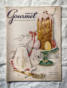 Vintage Gourmet Magazine April 1956