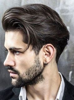 Top 100 Men's Hairstyles & Haircuts for Men - Hairstyle Man Mens Hairstyles 2016, Classic Mens Hairstyles, Hairstyles Haircuts, Cool Hairstyles, Twisted Hairstyles, Men's Haircuts, Hairstyle Ideas, Medium Hairstyles For Men, Mens Hairstyles Round Face