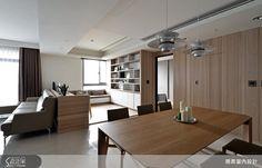 現代風的裝潢圖片為築青室內裝修有限公司的設計作品,該設計案例是一間預售屋總坪數為35,格局為三房,更多築青室內裝修有限公司設計案例作品都在設計家 Searchome