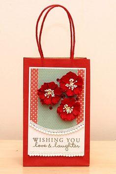 Bath & Body Health & Beauty Set Of 8 Christmas Gift Sack Metallic Bags For Sale