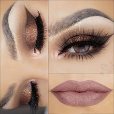 """""""My today AUTUMN TUTORIAL??? look using: @eyekandycosmetics SWEET ESSENTIALS & NATURALLY SWEET palettes @shophudabeauty lashes in RAQUEL…"""""""