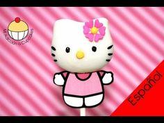 ¡Paletas de Torta de Hello Kitty! ¡Haz a Hello Kitty en una Paleta de Torta! MiAdiccionaCupcakes - YouTube