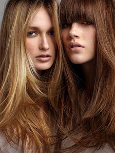 cabellos teñidos con tintes naturales