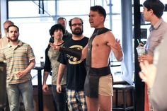 The 'I Am Spartacus!' Scene Recreated in Real Life in a Starbucks by Improv Everywhere