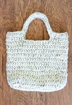 Bag Simples e Útil com Passo a Passo! (Tecendo Artes em Crochet)