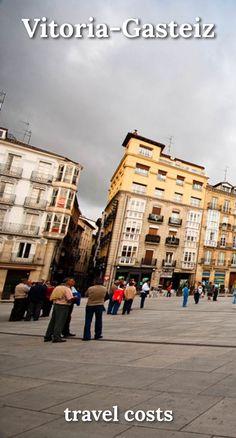 Travel costs for Vitoria-Gasteiz