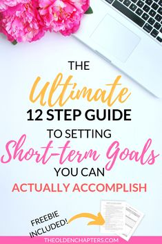 The ultimate guide to short term goal setting for adults, college students, and families. Perfect to help you reach your life goals to improve your ca College Hacks, College Life, College Club, Work Goals, Life Goals, Court Terme, Goal List, Career Development, Personal Development
