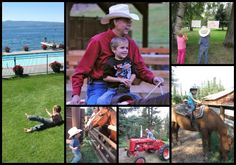 Flathead Lake Lodge is an awesome Guest Ranch for families