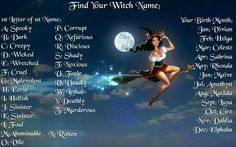 Witch name
