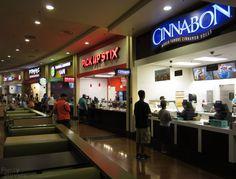 Excalibur castle walk food court Las Vegas