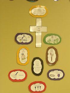The Cross bulletin board idea