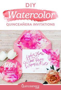 212 best quinceanera invitations images in 2018 quinceanera