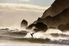 Surfing with Giants by Chris  Burkard on 500px