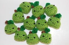 going to make for Nicks teacher and put them in a little crochet basket!
