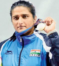 Haryana based athlete Seema Punia made her way to the Rio Olympics with a m effort at the Pat Young's Throwers Classic Discus Thrower, Classic 2016, Olympic Athletes, Sports News, Effort, Olympics, Rio, Rain Jacket, Windbreaker