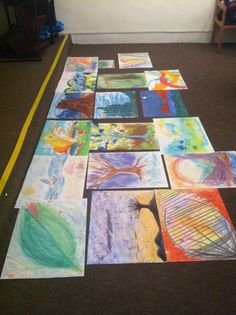 Future Art Therapists practicing the DDS Diagnoistic Drawing Series in Assessments at Southwestern College, Santa Fe.