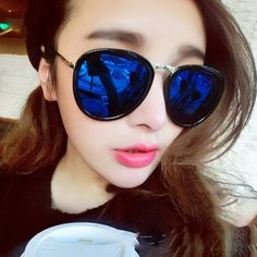 Find More   Information about 2015 star style metal sunglasses Women reflective sunglasses male vintage color film sunglasses,High Quality  ,China   Suppliers, Cheap   from Sylviaxuxu's Store on Aliexpress.com