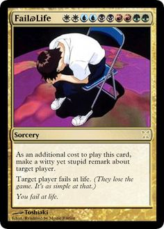 Funny Magic The Gathering Cards - Sherdog Mixed Martial Arts Forums Rainbow Magic, Magic The Gathering Cards, Nerd Humor, Humour, Magic Cards, Mtg, Fun Games, Comedy Central, Nerdy Things