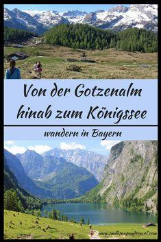 Traumhafte Wanderung in Bayern - im Nationalpark Berchtesgaden.