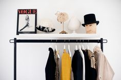 Clothing rack obsession // The Coveteur