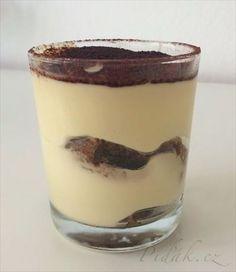 Picture of Recept - Fantastické Tiramisu - pohárová varianta Sweet Bar, Ice Cream Candy, Something Sweet, Cake Cookies, No Bake Cake, Nutella, Tiramisu, Cookie Recipes, Catering