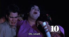 Ken King, Divine and Mary Garlington (as Dexter, Francine and Lu-Lu Fishpaw) from John Waters' Polyester, 1981 Stiv Bators, Tab Hunter, John Waters, Satire, Actors, Dexter, American, Objects, Mary