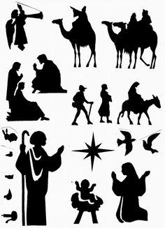 Ana de Austria Religión: Siluetas navideñas
