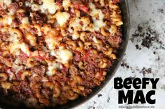 Mix and Match Mama: Beefy Mac