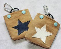 Mini-Futterbeutel mit Sternen