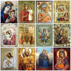 Faces of Mary