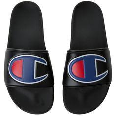 0250742af2f5 Champion Men s Champion Ipo Slide Sandals Black Champion Shoes