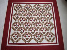 Carolina - Bonnie Blue Quilts/Red Crinoline Quilts.  Have all fabric.  Need to start.  Love this pattern.