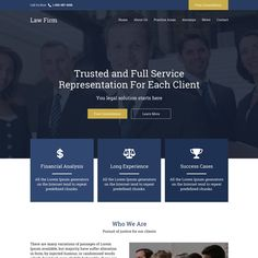 professional law firm free consultation responsive website design at a very reasonable and affordable price from buy landing page design Design Websites, Web Design Trends, Lawyer Website, Law Firm Website, Website Design Inspiration, Law Web, Financial Website, Website Color Palette, Professional Website