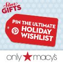 Just pinned my ultimate holiday wishlist! Enter yours & you could win a $1K #Macy's Gift Card!