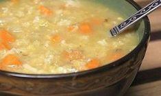 Εύκολη σούπα με ρύζι και καρότο για τις κρύες ημέρες