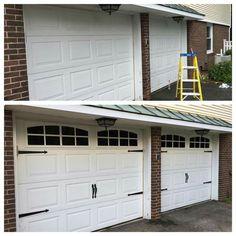 Creating A Faux Carriage Garage Door | DIY | Pinterest | Carriage Garage  Doors, Garage Doors And Hardware