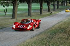1967 Ferrari 330 P3/4 at the Meadow Brook Concours d'Elegance