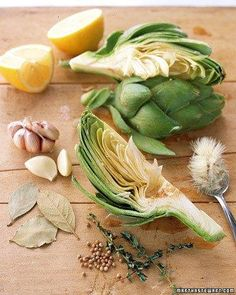 Quick Braised Artichokes Recipe