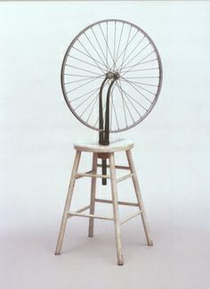 kinetische kunst Marcel Duchamp Fietswiel
