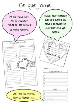 Core French, French Class, Spanish Class, French Teaching Resources, Teaching French, Back To School Activities, French Quotes, Anti Bullying, Good Night Quotes