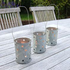 Hanging Stars Lantern - candles & home fragrance