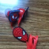 Spiderman ear bud