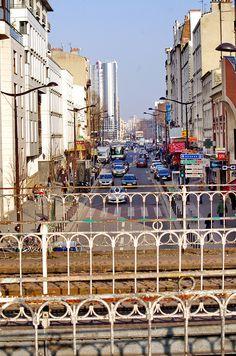 Paris, le long des voies de la Petite Ceinture 35 rue d'Avron et Porte de Montreuil
