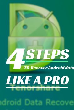 4 steps to recover Android data like a pro!  #tutorial #android