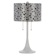 I pinned this Drizzle Table Lamp in White from the Candice Olson event at Joss and Main!
