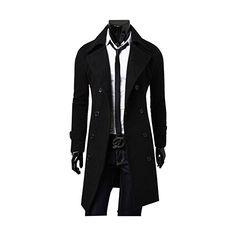 985c2dad9be9 Herren Mantel, Jacken Herren, Bekleidung, Wintertrenchcoat, Trenchcoat  Männer, Männermode, Herren