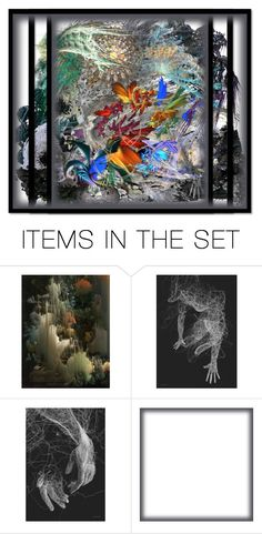 """""""7706 - the tempest (in a teacup)"""" by suburbhater ❤ liked on Polyvore featuring art"""