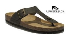 Mens SCIMITAR M588 Touch Fastening Brown Summer Sandals