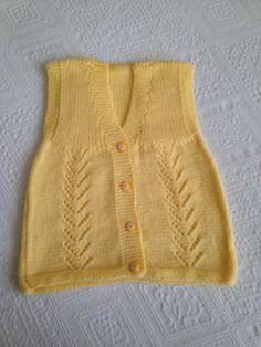 Knit Vest, Baby Knitting, Diy And Crafts, Knit Crochet, Babies, Sweaters, Fashion, Needlepoint, Moda