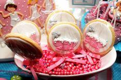 Detalhes da mesa dos doces!
